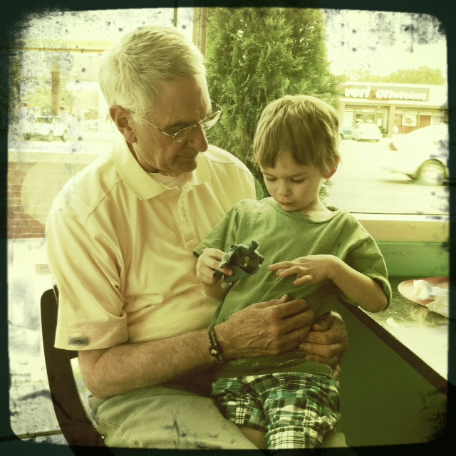 Papa_and_george